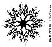 vector calligraphic element.... | Shutterstock .eps vector #476792302