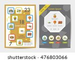 transport icons set with long... | Shutterstock .eps vector #476803066