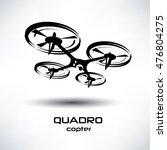 drone icon  quadrocopter... | Shutterstock .eps vector #476804275