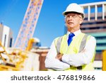 engineer builder at... | Shutterstock . vector #476819866