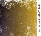winter abstract background.... | Shutterstock . vector #476891446