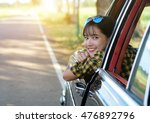 outdoor portrait of beautiful... | Shutterstock . vector #476892796