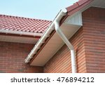 close up view on house problem... | Shutterstock . vector #476894212
