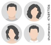 colorful material vector people ...