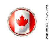 canada icon. canadian flag...