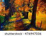 Original Oil Painting Landscap...