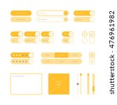 ui design elements vector....