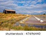 breton marsh in vendee in the...   Shutterstock . vector #47696440