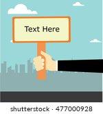 signpost vector design | Shutterstock .eps vector #477000928