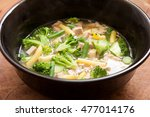 local homemade chicken pho with ...