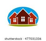 district conceptual vector... | Shutterstock .eps vector #477031336