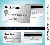 bank card customer. vector. the ...   Shutterstock .eps vector #477032152