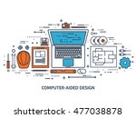 engineering and architecture.... | Shutterstock . vector #477038878