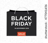 black friday sale vector... | Shutterstock .eps vector #477041656
