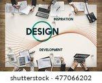 inspiration development design... | Shutterstock . vector #477066202
