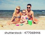 family  travel  vacation and... | Shutterstock . vector #477068446