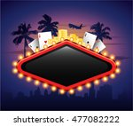 casinon vintage banner sign... | Shutterstock .eps vector #477082222