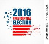 2016 usa presidential election... | Shutterstock .eps vector #477084226
