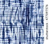 indigo blue tie dye textile...