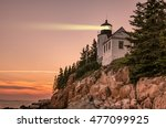 Bass Harbor Lighthouse In Maine ...