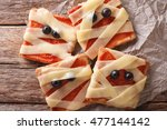 Halloween Food  Sandwiches...