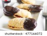 homemade ladyfingers filled...   Shutterstock . vector #477166072