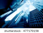 abstract buildings background   | Shutterstock . vector #477170158