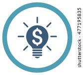 business idea bulb vector...   Shutterstock .eps vector #477195835