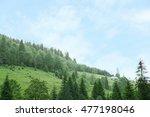 green forest hills | Shutterstock . vector #477198046