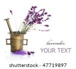 lavender cosmetics concept   Shutterstock . vector #47719897
