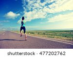 healthy lifestyle young fitness ... | Shutterstock . vector #477202762