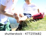 First Aid  Twisted Leg. The...