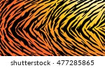 Tiger Texture Abstract...