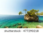 stunning summer landscape with... | Shutterstock . vector #477290218