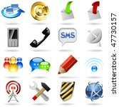 communication and internet... | Shutterstock .eps vector #47730157