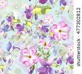 Beautiful  Watercolor Spring...
