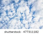 Clouds. Sky. Blue Sky And...