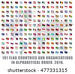 191 all world flag countries... | Shutterstock .eps vector #477331315