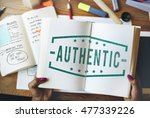 quality service guaranteed... | Shutterstock . vector #477339226