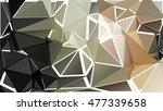 randomly scattered triangles of ... | Shutterstock .eps vector #477339658