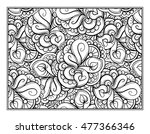 vector abstract pattern page... | Shutterstock .eps vector #477366346