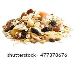 heap of premium fruit and nut... | Shutterstock . vector #477378676