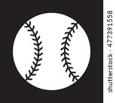 baseball graphic | Shutterstock . vector #477391558