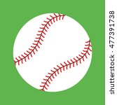 baseball graphic | Shutterstock . vector #477391738