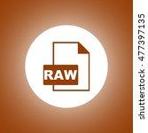 raw icon. concept illustration...