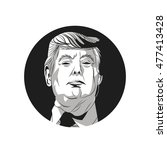 usa presidential election... | Shutterstock .eps vector #477413428