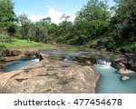 stunning tributary stream...   Shutterstock . vector #477454678