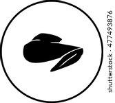 chicken wing symbol | Shutterstock .eps vector #477493876