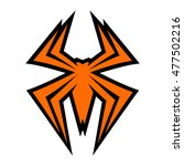 spider bug insect graphic | Shutterstock . vector #477502216