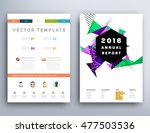 business abstract template... | Shutterstock .eps vector #477503536